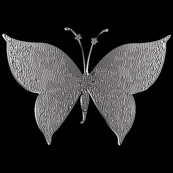 Monochromatic Tiled Butterfly 2