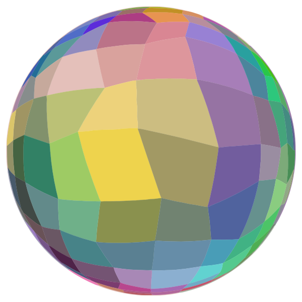 Mosaic Ball On A Diet