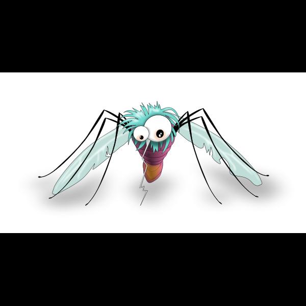 Comic mosquito