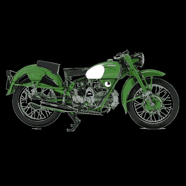 Moto guzzi verde