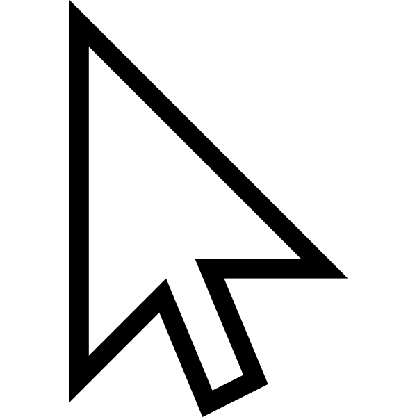 Mouse Cursor Arow Fixed | Free SVG