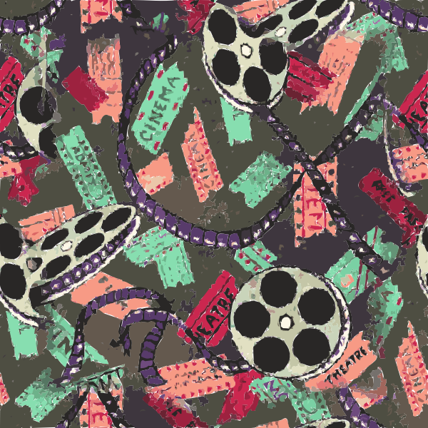 Movie Theater Carpet Found 2016061716 Free Svg
