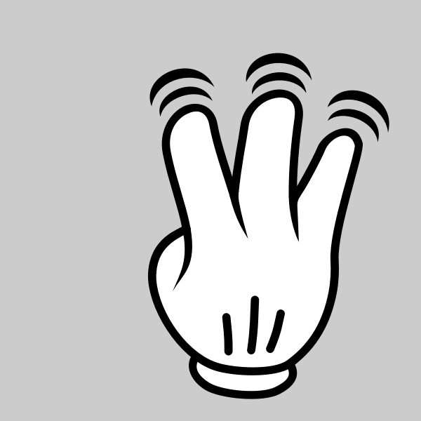MultiTouch-Interface Mouse-theme 3-fingers-Double-Tap