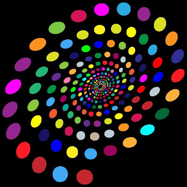 Multicolored Circles Vortex