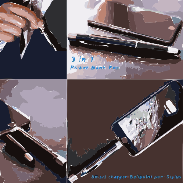 Multifunction pen with phone charger 2016121227
