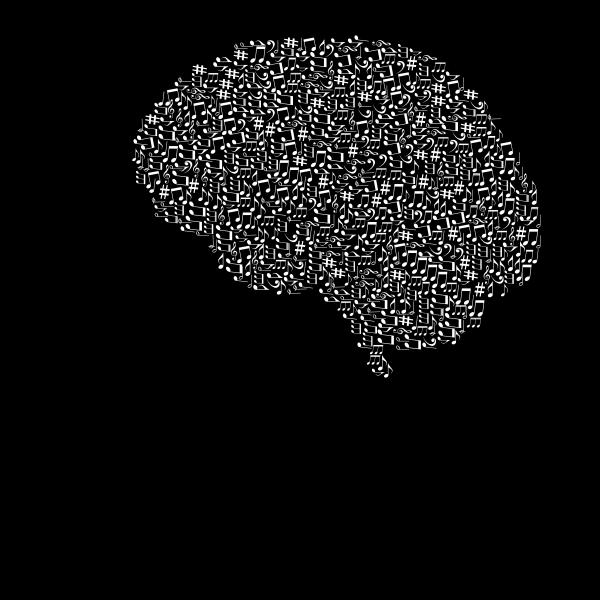 Music Head White