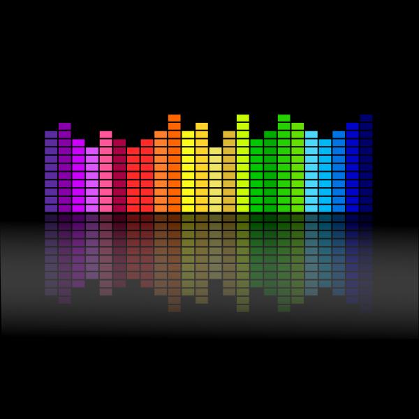 Music equalizer vector illustration