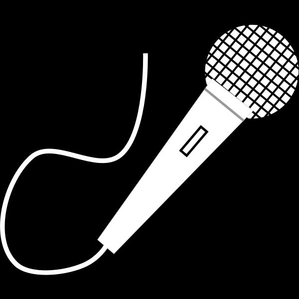 Vector illustrationof microphone