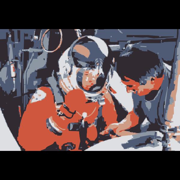 NASA flight suit development images 223-252 6