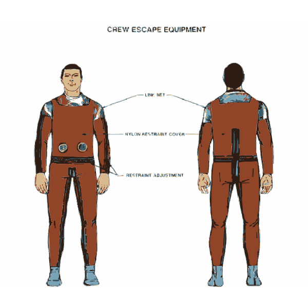 NASA flight suit development images 325-350 23