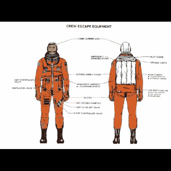 NASA flight suit development images 325-350 25
