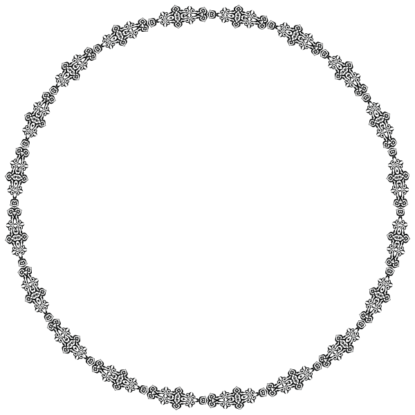 Neo Ornamented Circle