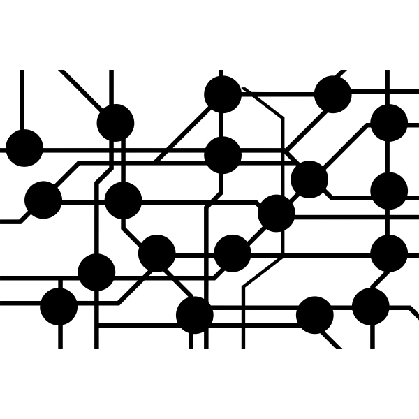 Networking circuit icon