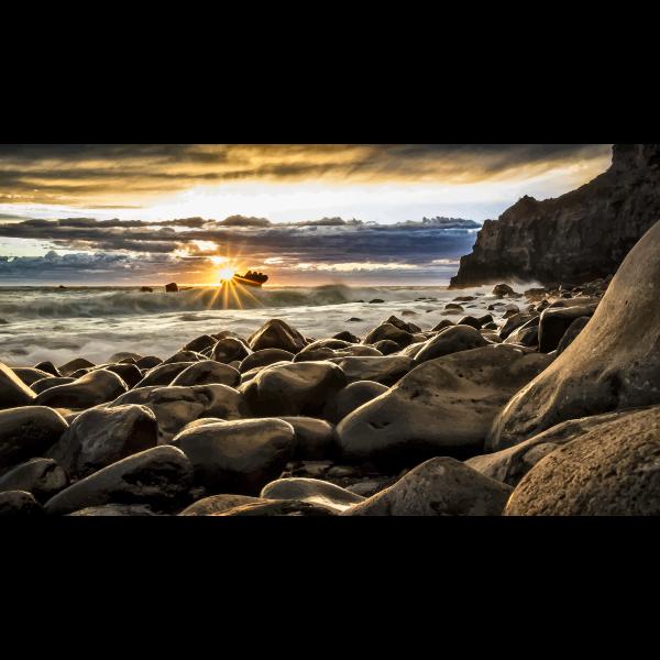 New Zealand Seascape