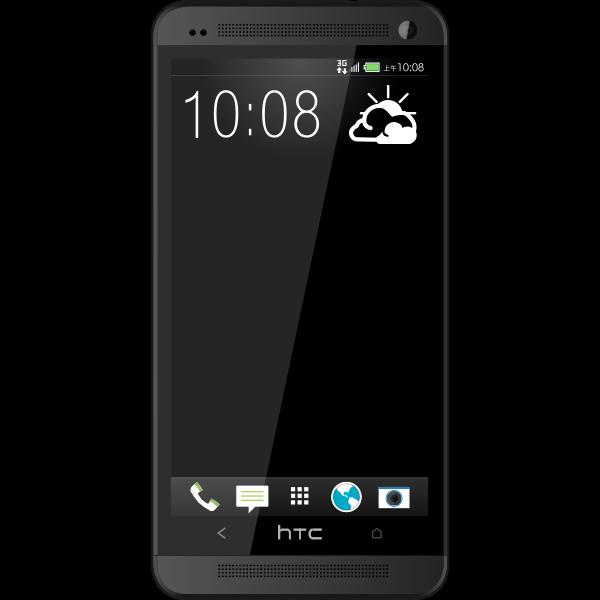 New hTC one black
