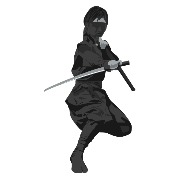 Female ninja agent