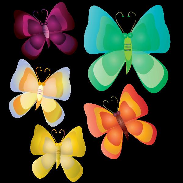 Non Realistic Butterflies