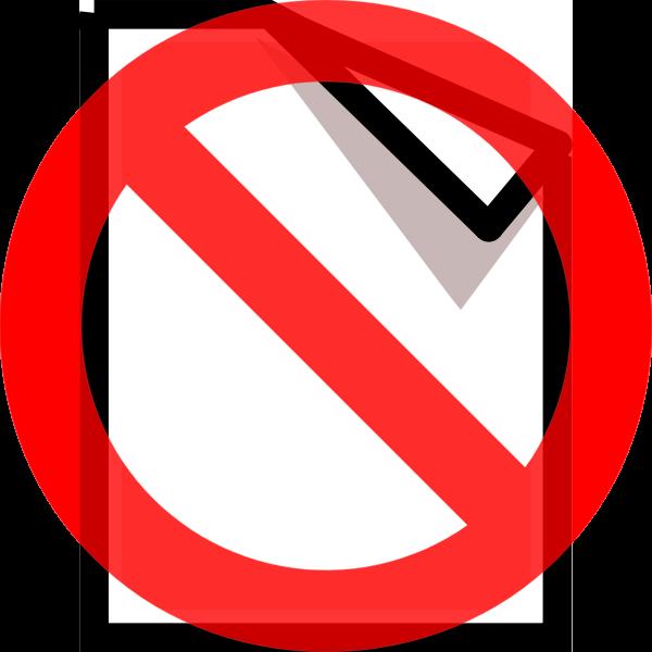 Vector clip art of undone computer OS icon