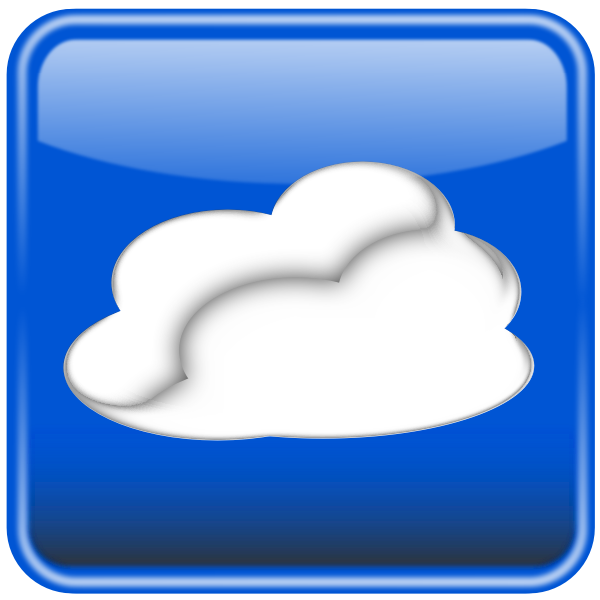 Cloud computing vector graphics