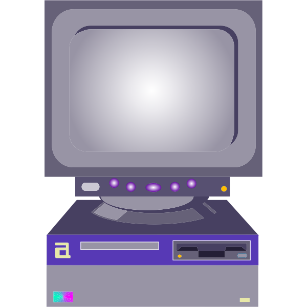 Colorful computer