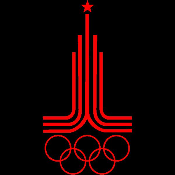 1980 Olympics vector image