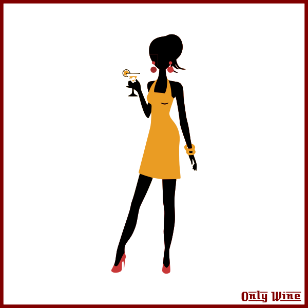 OnlyWine  girl yellow dress