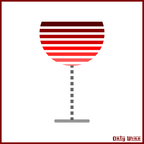 Stripy glass