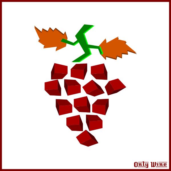 Abstract grapes