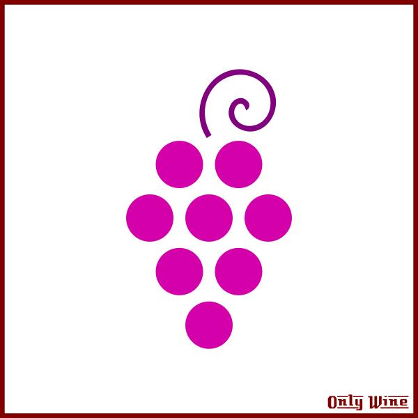 Pink grapes image
