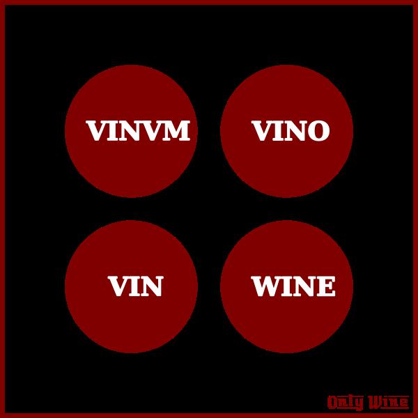 Red wine logos.
