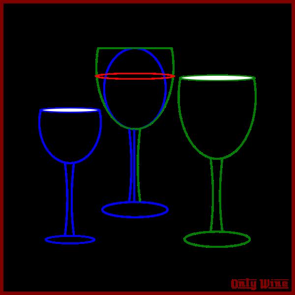 Wine Glasses Sketch Free Svg