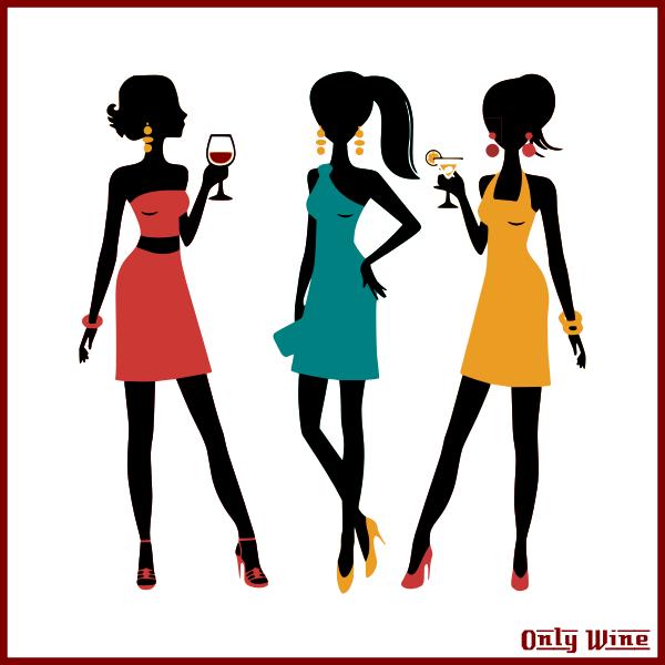 Three girls drinking