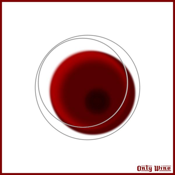 Wine glass bottom