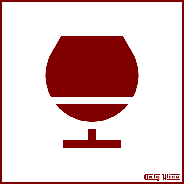 Red glass silhouette