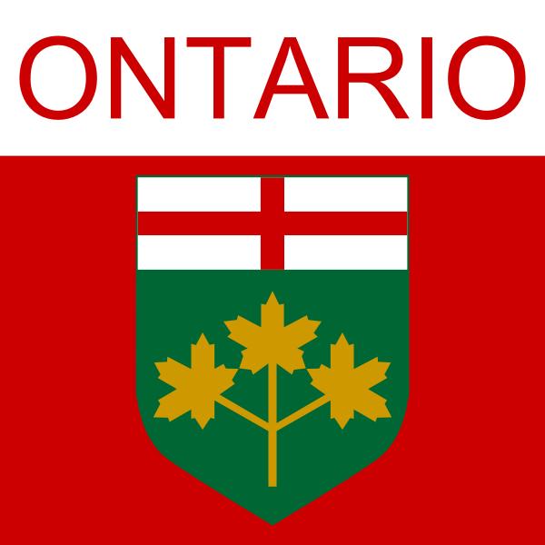 Ontario symbol vector illustration