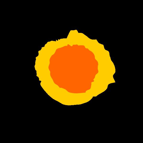 Orange Sun 01