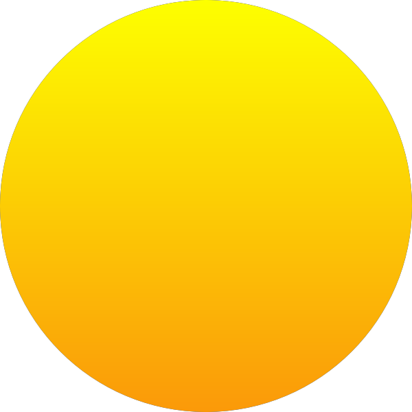 Orange Sun vector image