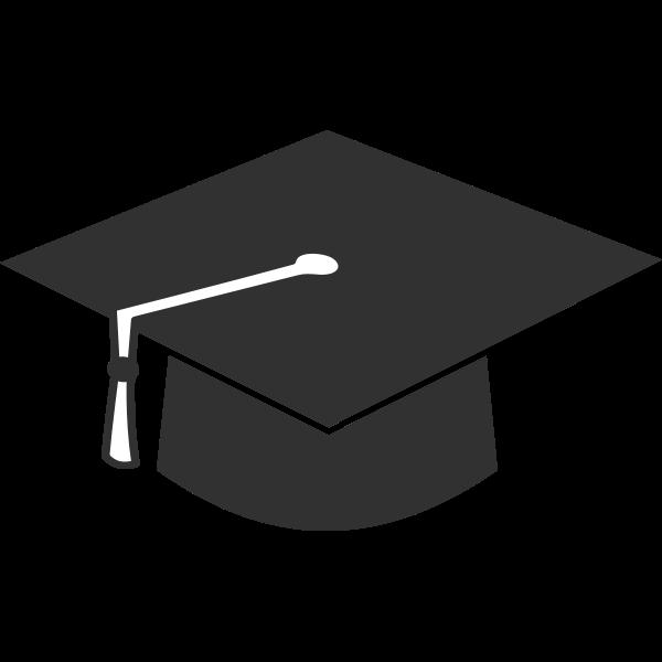 Simple academic hat