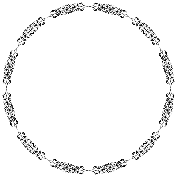 Ornamental Divider Circle