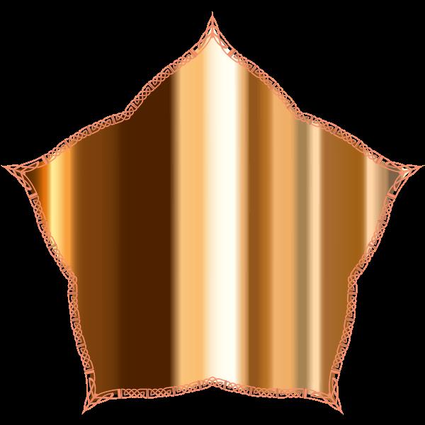 Ornamental Metallic Mirror