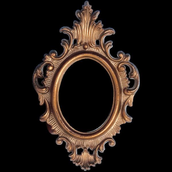 Ornate Frame Circular Shape