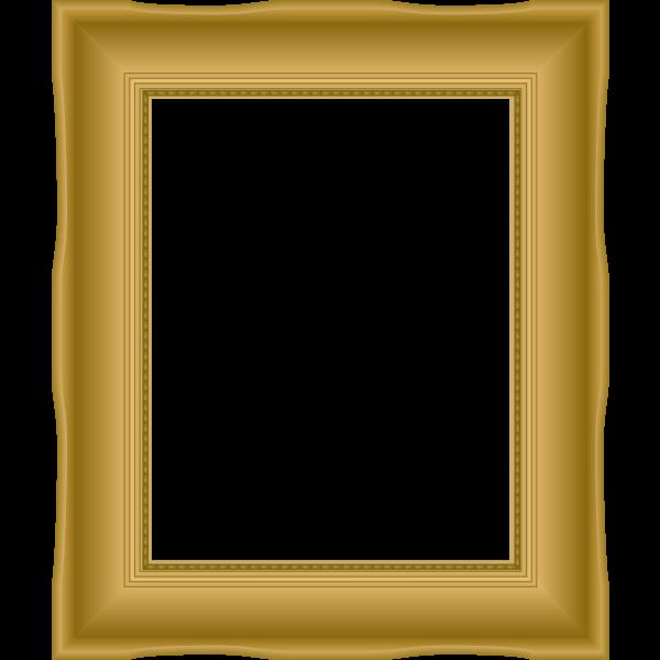 Ornate Picture Frame Plain