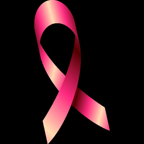 Pink October ribbon