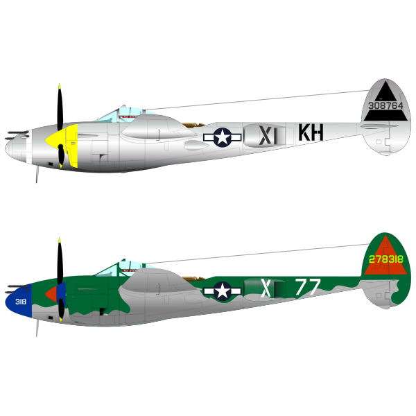 Lightning P-38