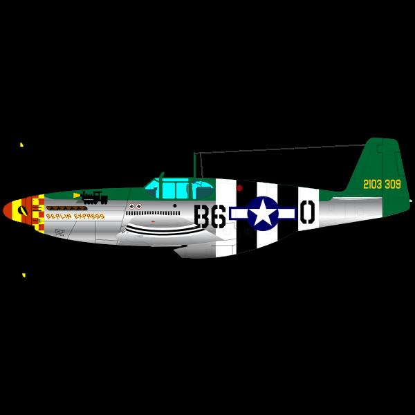 P-51B fighter