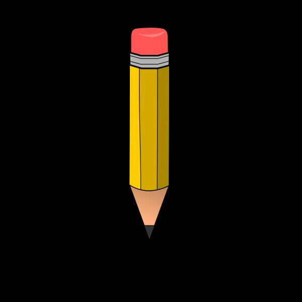 Small yellow pencil