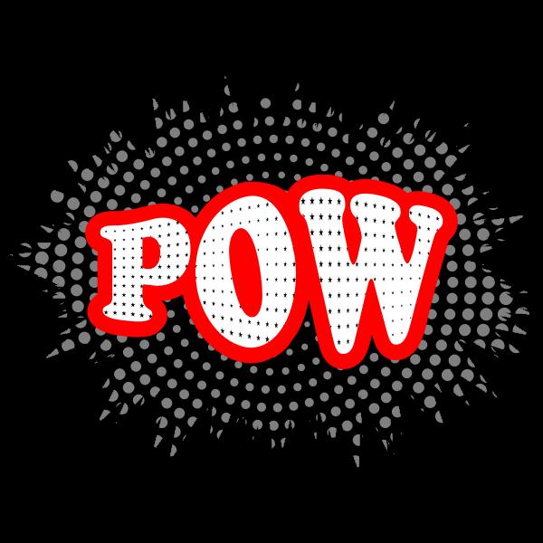 Pow typography