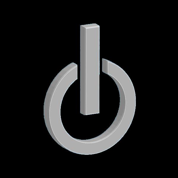 Power button symbol