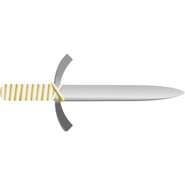 Pagan knife vector graphics