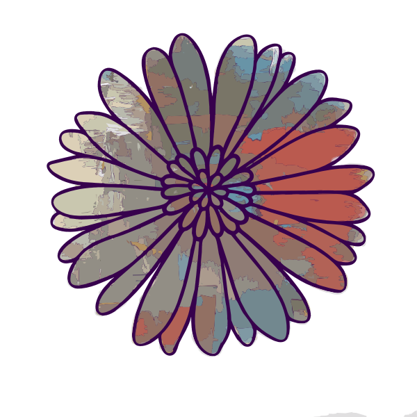 Painted Flower 2015060402